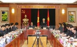 Toàn văn phát biểu của Tổng Bí thư Nguyễn Phú Trọng tại cuộc làm việc với Ban Kinh tế Trung ương