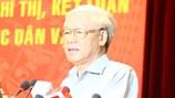 Tổng Bí thư yêu cầu kiểm tra việc báo chí nêu liên quan đến bà Hồ Thị Kim Thoa