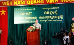 Họp mặt Tết Chôl Chnăm Thmây 2016 của đồng bào Khmer Nam Bộ