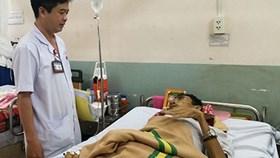 Cứu bệnh nhân bị phình động mạch gan dọa vỡ hiếm gặp