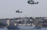 Những màn trình diễn ngoạn mục của Hải quân Nga nhân Ngày Hải quân