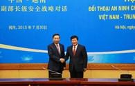 Đối thoại An ninh cấp Thứ trưởng Việt-Trung lần thứ nhất