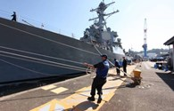 Mỹ đưa tàu chiến hiện hiện đại đến Nhật Bản đối phó với nguy cơ Triều Tiên phóng tên lửa
