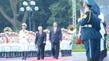 Hình ảnh lễ đón chính thức Tổng Bí thư, Chủ tịch Trung Quốc