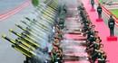 Cận cảnh giàn đại bác phục vụ lễ đón chính thức Chủ tịch Trung Quốc Tập Cận Bình