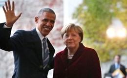 Ông Obama đến Đức chia tay bà Merkel