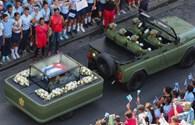 Những giờ phút cuối cùng trước lễ tang lãnh tụ Cuba Fidel Castro