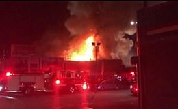 """40 người có thể đã chết trong vụ cháy """"Con tàu ma Oakland"""", Mỹ"""