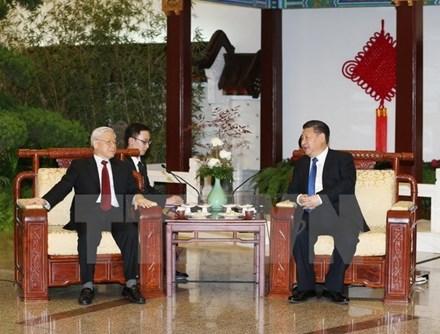 Toàn văn Thông cáo chung giữa hai nước Việt Nam-Trung Quốc - ảnh 1