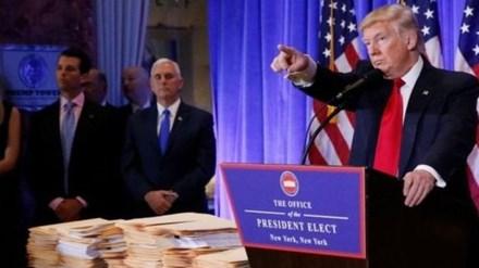 Ông Trump hứa có báo cáo về cáo buộc Nga can thiệp bầu cử Mỹ - ảnh 1