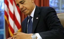 Tổng thống Obama viết thư tay cảm ơn người dân Mỹ