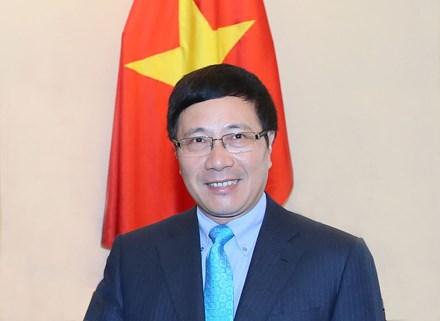Phó Thủ tướng Phạm Bình Minh: Việt Nam mong muốn tăng cường quan hệ đối tác toàn cầu vì phát triển bền vững - ảnh 1
