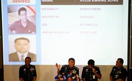 Vụ nạn nhân bị sát hại nghi là Kim Jong Nam: Malaysia đề nghị thẩm vấn nhà ngoại giao Triều Tiên