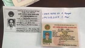 Trung tá công an cầm thẻ ngành giả vay mượn tiền tỉ