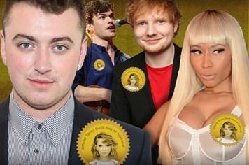 Những ngôi sao nổi tiếng nhờ Taylor Swift