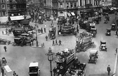 Kinh ngạc hình ảnh hiếm về London hơn một thế kỷ trước