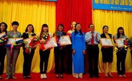 Công ty Yến sào Khánh Hòa: Gần 200 nữ công nhân tham gia hội thi Khéo tay hay làm