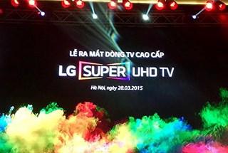 LG Việt Nam ra mắt tivi 5K và Super Ultra HD