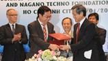 ICDREC hợp tác với quỹ khoa học công nghệ Nagano