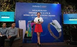 """Infinix HOT 3 LTE X553 thiết kế thanh mảnh, giá """"sát thủ"""" ở phân khúc dưới 3 triệu đồng"""