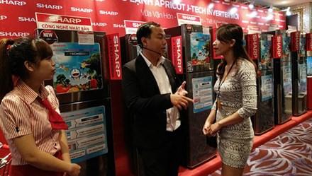 Sharp muốn đánh chiếm Top 3 phân khúc tủ lạnh từ 200-349 lít