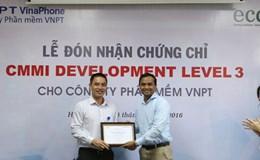 VNPT Software nhận chứng chỉ CMMI