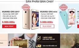 Mở gian hàng online, điện thoại Huawei giảm giá 50% một ngày duy nhất
