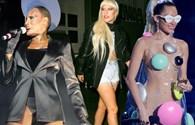"""Lady Gaga và Miley Cyrus bị """"tố"""" copy phong cách ăn mặc sexy"""
