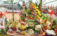 Đọc đáo mâm cỗ của người dân tộc Tày tại lễ hội lồng thồng Bủng Kham