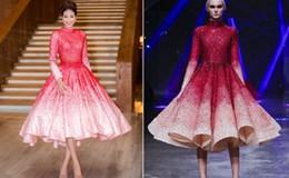 Phạm Hương diện váy nhái đi dự sự kiện?