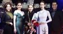 Ngọc Trinh khoe vai trần gợi cảm trao giải Hoa hậu Quý bà Áo dài