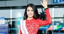 Á hậu Lệ Hằng chính thức lên đường tham dự Hoa hậu hoàn vũ 2016