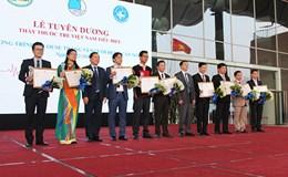 Tuyên dương 10 thầy thuốc trẻ Việt Nam năm 2016