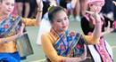Các cô gái Lào xinh đẹp trong Đại hội Thể thao lưu học sinh
