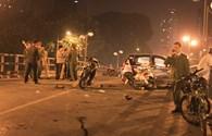 Một nạn nhân trong vụ xe taxi đâm hàng loạt xe máy trên cầu vượt đã tử vong