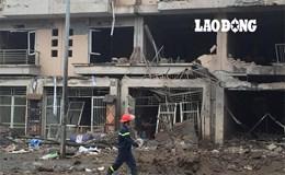 Hàng chục căn nhà bị hư hại nặng trong vụ nổ tại KĐT Văn Phú