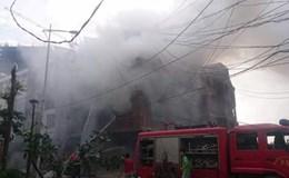 Hỏa hoạn tại Khu đô thị Văn Khê - Hà Đông