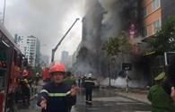 Ai phải chịu trách nhiệm trong vụ cháy dãy nhà trên phố Trần Thái Tông?