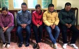 Bắt khẩn cấp nhóm đối tượng cưỡng đoạt tài sản ở cầu Thăng Long