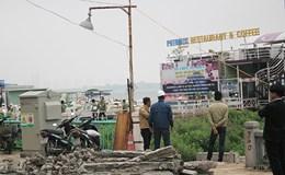 Hà Nội: Chính thức cưỡng chế di dời nhà nổi, du thuyền Hồ Tây