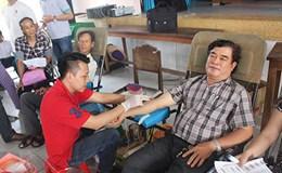 80 lần hiến máu tình nguyện