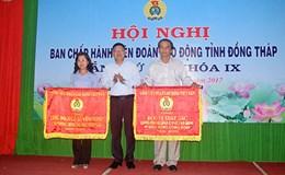 LĐLĐ tỉnh Đồng Tháp: Năm 2016 đạt nhiều kết quả nổi bật