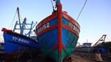 Trưng bày tàu cá Đà Nẵng bị đâm chìm tại Hoàng Sa