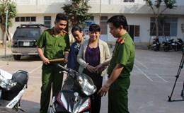 """Đà Nẵng: Bắt băng nhóm trộm cắp xe máy liên tỉnh do """"nữ quái"""" cầm đầu"""
