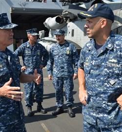 Đô đốc Mỹ: Trung Quốc cải tạo đất đai trên biển gây nhiều lo ngại