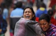 Dư chấn rung chuyển Nepal, số người chết đã lên tới hơn 2.200