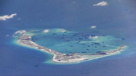 Lầu Năm Góc tiếp tục kêu gọi Trung Quốc chấm dứt cải tạo và quân sự hóa đảo nhân tạo