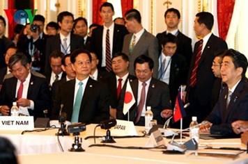 Nhật cam kết ODA 750 tỷ yen cho các nước Mekong trong 3 năm tới