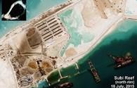 Trung Quốc ồ ạt chuẩn bị đổ bê tông đường băng dài 3km trên đá Xu Bi