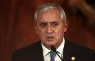 Tổng thống Guatemala bất ngờ từ chức vì bị nghi chủ mưu biển thủ hàng triệu USD